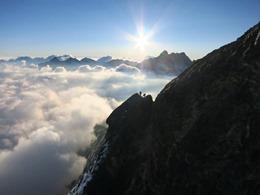 De beklimming van de Eiger via de Mittellegi