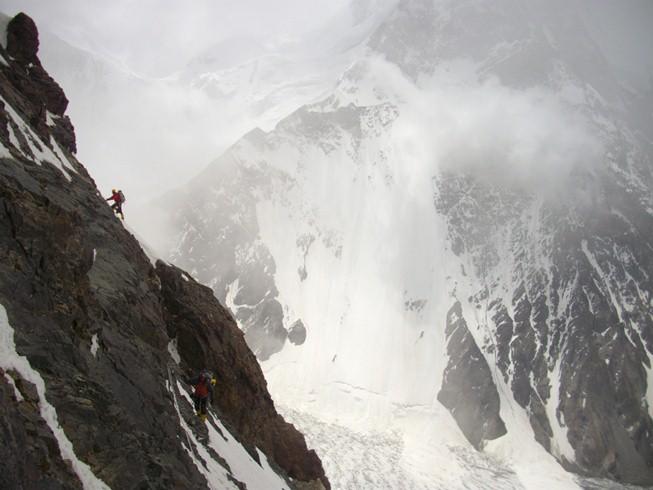 Onderweg op de K2