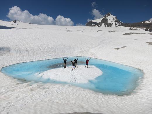 Alpinisme met kinderen in het Berner Oberland