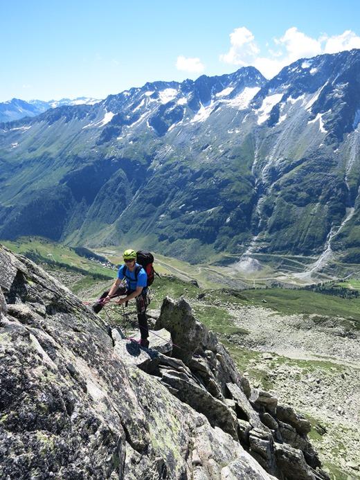 Het prachtige graniet van de Urner Alpen