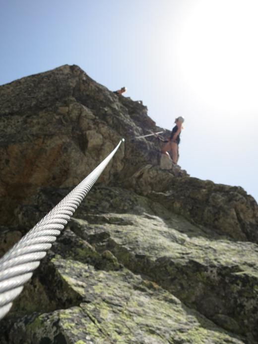 In de afdaling van de Bergsee Schijen naar de Bergsee Hut