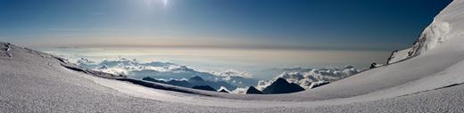 Prachtig uitzicht over de Italiaanse Povlakte