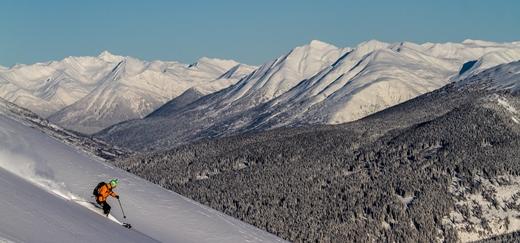 Helikopter skiën in Canada
