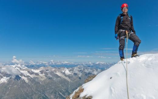 Fantastisch uitzicht vanaf de Hohberghorn