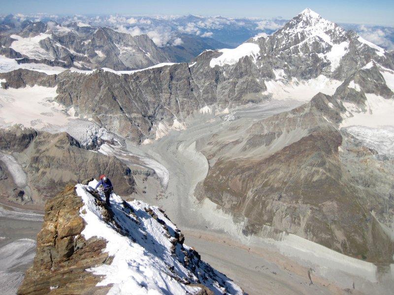 Matterhorn met Dent Blanche